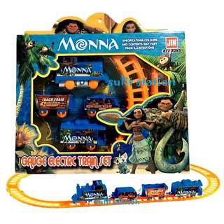 MOANA BATTERY OPERATED TRAIN TOYS