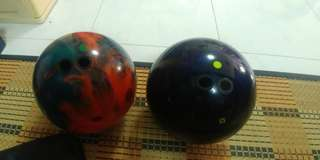 Hyroad & Shout Bowling Ball Bundle sale (2hand)