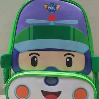 Poli robocar (Heli) Kids School Bag