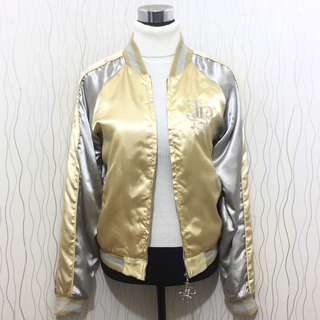 REPRICED! Yellow Varsiry Jacket