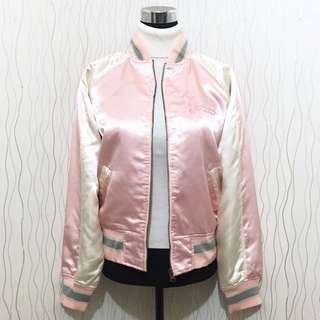REPRICED! Pink Varsity Jacket