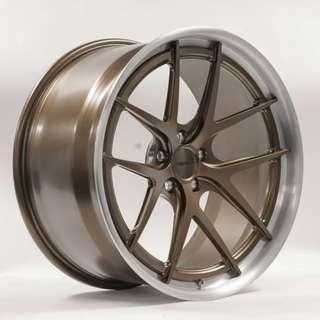 Forgeline wheels VX3C-SL Stepped Lip 夾鈴連呔