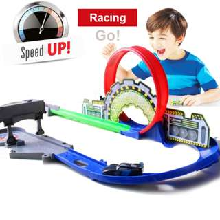 City Parking Lot Cars Racking Track with Launcher Good Quality!