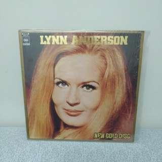 LYNN Anderson Lp 金裝黑膠唱片 日本版