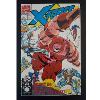 X-Force #3 (1991) - Guest-starring Spiderman! VS. Juggernaut! *FREE BOOK, TOC Applies*