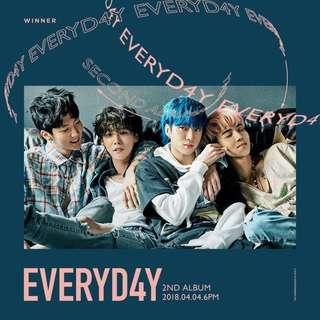 <<代購>>WINNER - Everyd4y (Day/ Night Ver.)
