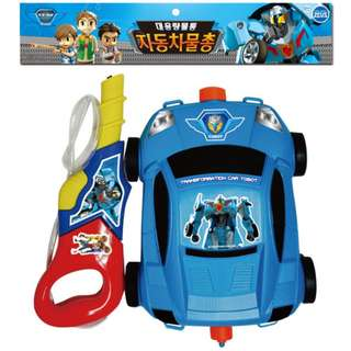 Tobot X Blue Water Gun Powerful Backpack Water Gun