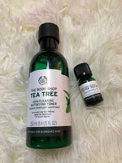 Tea Tree Toner and Oil