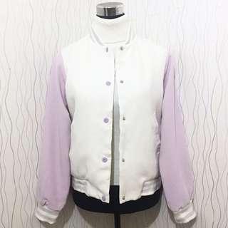 Purple Varsity Jacket