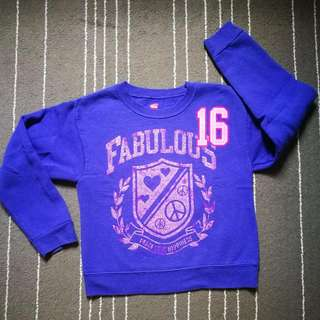 Girl Fleece Sweater 5-6y