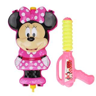 Minnie Mouse Water Gun Powerful Backpack Water Gun Outdoor Beach