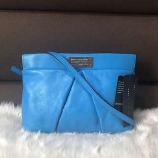 Marc Jacobs Academy Crossbody Electric Teal $235