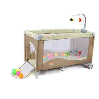 Baby game bed
