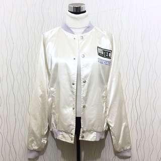 White Varsity Jacket