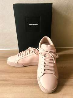 Brand New Saint Laurent Court Classic SL06 leather sneakers