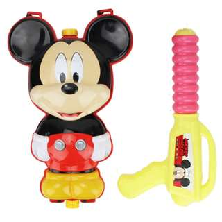 Mickey Mouse Water Gun Powerful Backpack Water Gun Outdoor Beach