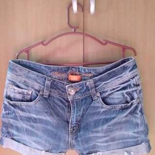 Fab Maong Shorts