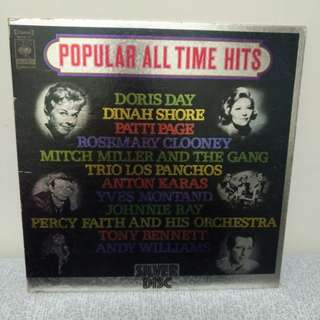 Popular All time hits Lp 白金黑膠唱片 日本版