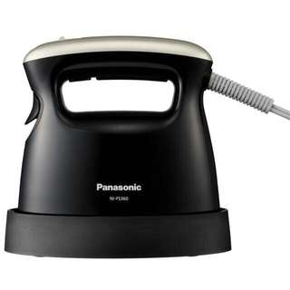 🚚 日本帶回 全新 Panasonic 日本熱銷 人氣商品 國際牌 NI-FS360 黑色款 手持式 / 蒸汽熨斗 市價$3280