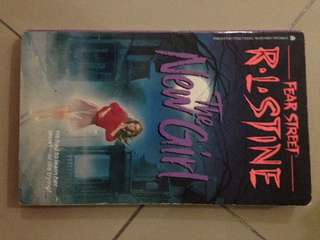 RL STINE Fear street The New Girl