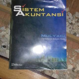#BONUSMARET Buku sistem akuntansi by mulyadi