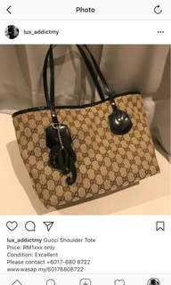 Gucci Shoulder Tote