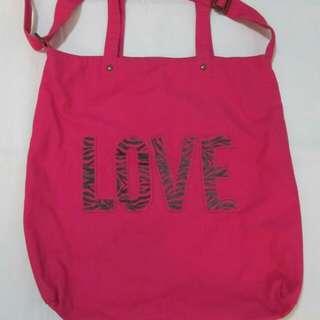 Aéropostale big tote bag (hot pink)