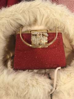 Red cherry bag