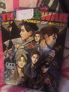 EXO: The War Repackage (krn ver) + free poster
