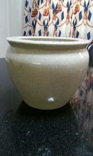 Vintage Porcelain Pot