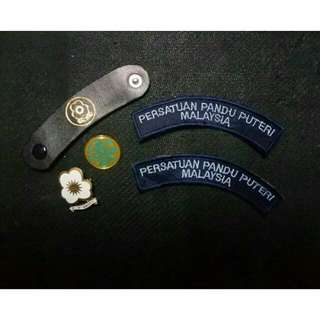 🆕 Pandu Puteri Patches & Badges #letgo4raya