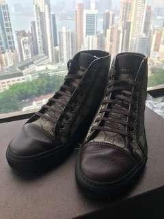 Gucci Nappa Moorea High-top Sneakers
