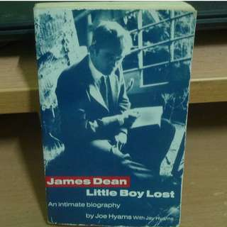 James Dean: Little Boy Lost - An Intimate Biography by Joe Hyams (Whatsapp for fast response: 0126541053 ☺)