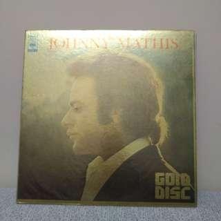 JOHNNY  Mathis LP 金裝黑膠唱片 日本版