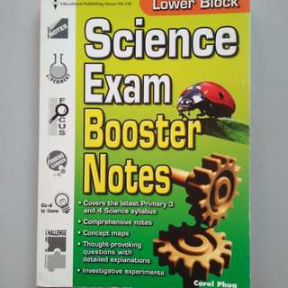 Science Booster Notes (P3&4)