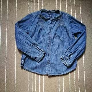 GAP Chambray Shirt 5y