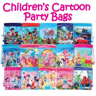 ♥Brand New Children Drawstring Party Bags★