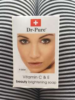 Dr-Pure Vit C & E Beauty Brightening Soap