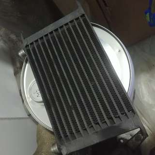 Oil cooler 12 rows