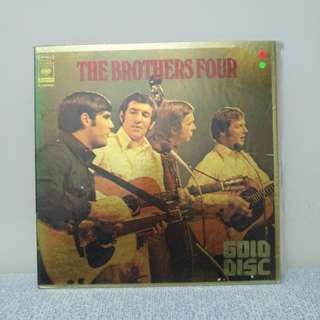 THE BROTHERS FOUR LP 金裝黑膠唱片 日本版