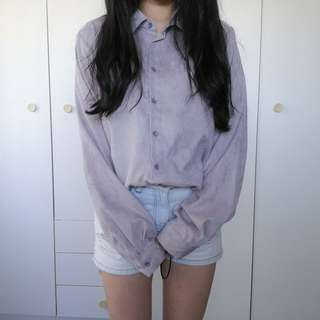 Velvety Design Purple Top