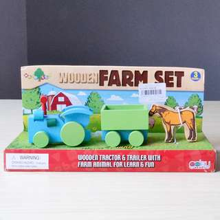 Wood Fun Wooden Farm Set