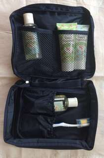 Two pcs of Travel Toiletry Organizer