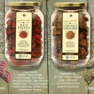 Premium Cookies Raya Balang Kaca
