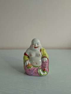 70s Happy Buddha height 10 cm perfect condition