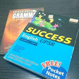 (Bundle Package) UPSR Grammar Exercise Books