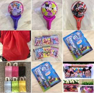 Goody bag, goodies bag packages for kids party