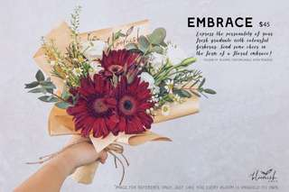 Graduation / Convocation Flower Bouquet - Embrace