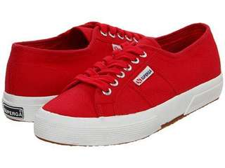 Superga Red. (Authentic)