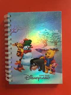 Winnie A Pooh DisneyLand Notebook